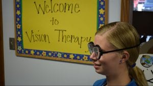 Vision Therapy with Prism lenses